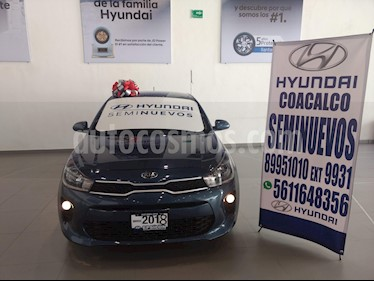 Foto venta Auto usado Kia Rio Sedan LX (2018) color Azul precio $210,000