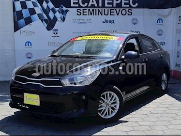 Foto venta Auto usado Kia Rio Sedan LX (2018) color Negro Perla precio $229,000