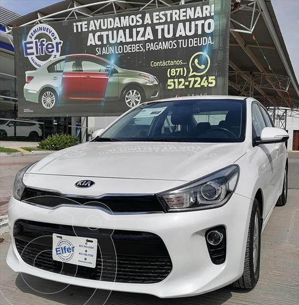 Foto Kia Rio Sedan EX Aut usado (2018) color Blanco precio $240,000