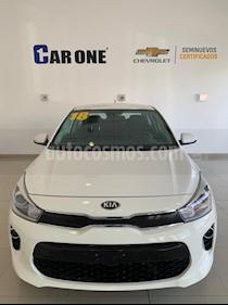 Kia Rio Sedan EX usado (2018) color Blanco precio $227,900