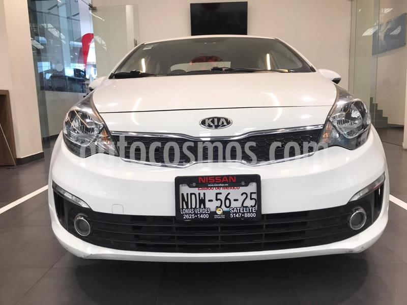 Kia Rio Sedan EX usado (2017) color Blanco precio $185,500