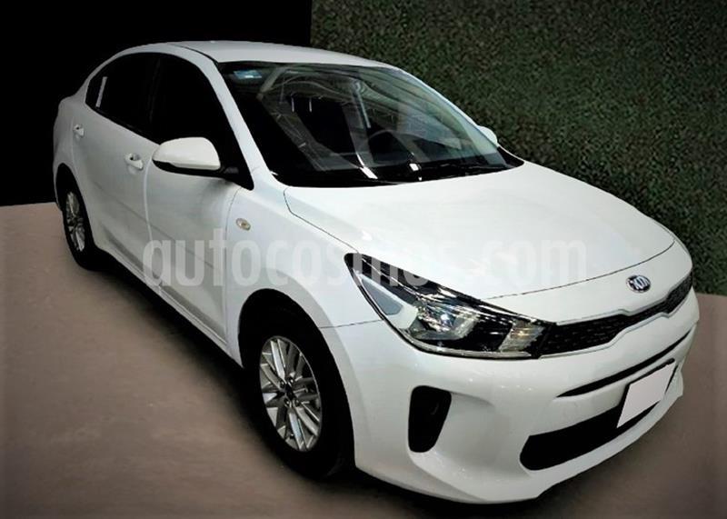 Kia Rio Sedan LX Aut usado (2020) color Blanco Glaciar precio $214,500