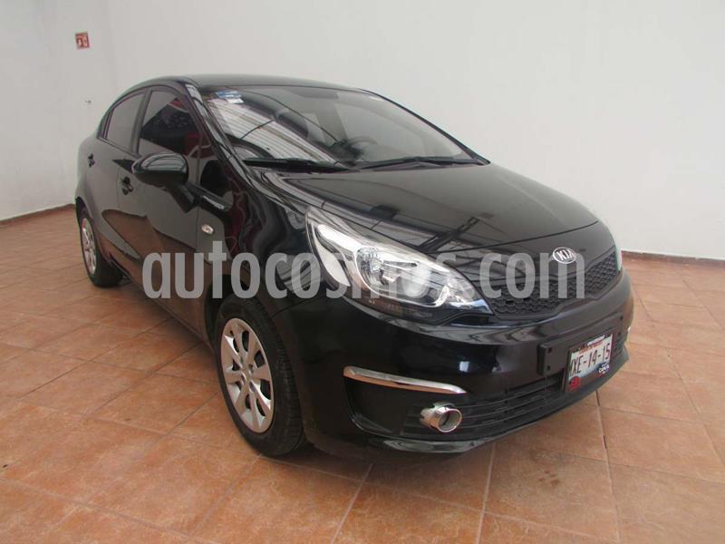 Kia Rio Sedan LX usado (2016) color Negro precio $175,000