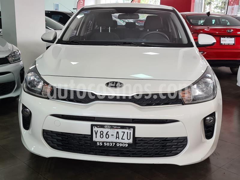 Kia Rio Sedan EX usado (2019) color Blanco precio $199,000