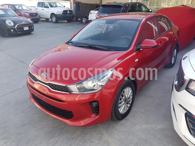 Kia Rio Sedan LX usado (2018) color Rojo precio $225,000
