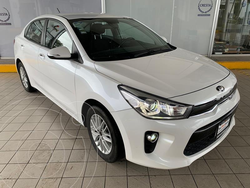 Foto Kia Rio Sedan EX usado (2018) color Blanco precio $242,900