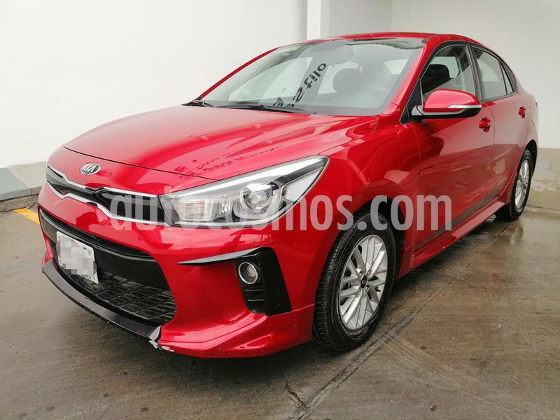 Kia Rio Sedan EX usado (2018) color Rojo precio $243,000