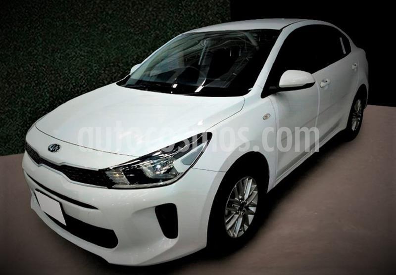 Kia Rio Sedan LX usado (2020) color Blanco Glaciar precio $214,999