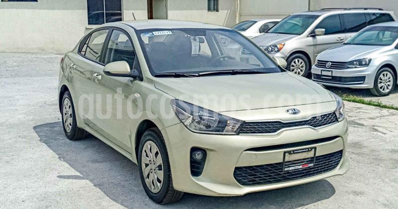 Kia Rio Sedan L usado (2018) color Blanco precio $199,000