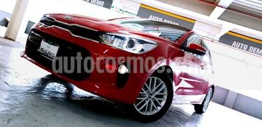 Kia Rio Sedan EX Aut usado (2018) color Rojo precio $249,000