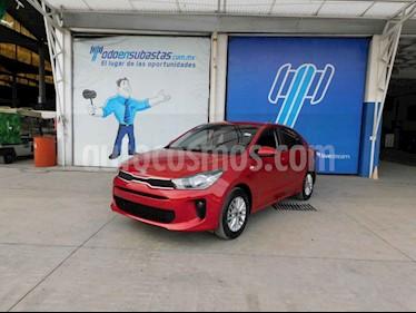 Kia Rio Sedan LX Aut usado (2018) color Rojo precio $88,000