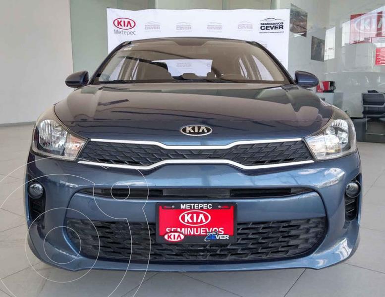 Kia Rio Sedan LX usado (2018) color Azul precio $194,900
