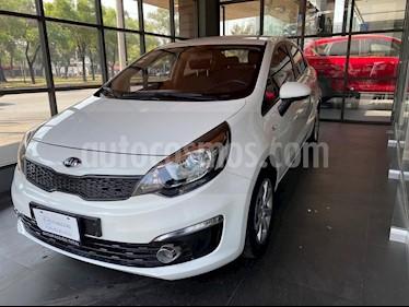 Kia Rio Sedan LX usado (2016) color Blanco precio $134,000