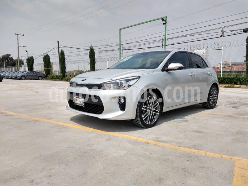 Kia Rio Sedan EX Aut usado (2018) color Plata precio $236,000