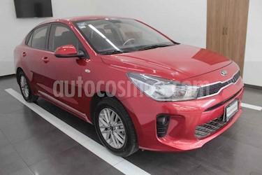 Kia Rio Sedan LX usado (2019) color Rojo precio $210,000