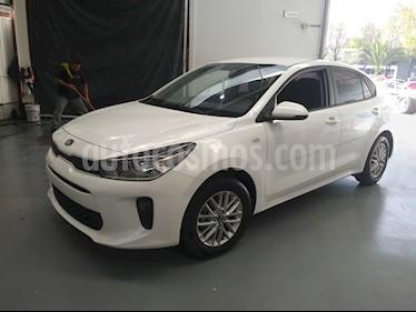 Kia Rio Sedan LX Aut usado (2019) color Blanco Glaciar precio $217,000