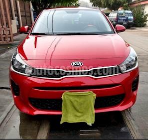 Kia Rio Sedan LX usado (2018) color Rojo precio $200,000