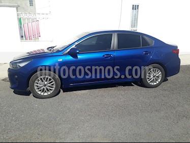 Kia Rio Sedan LX Aut usado (2019) color Azul precio $200,000