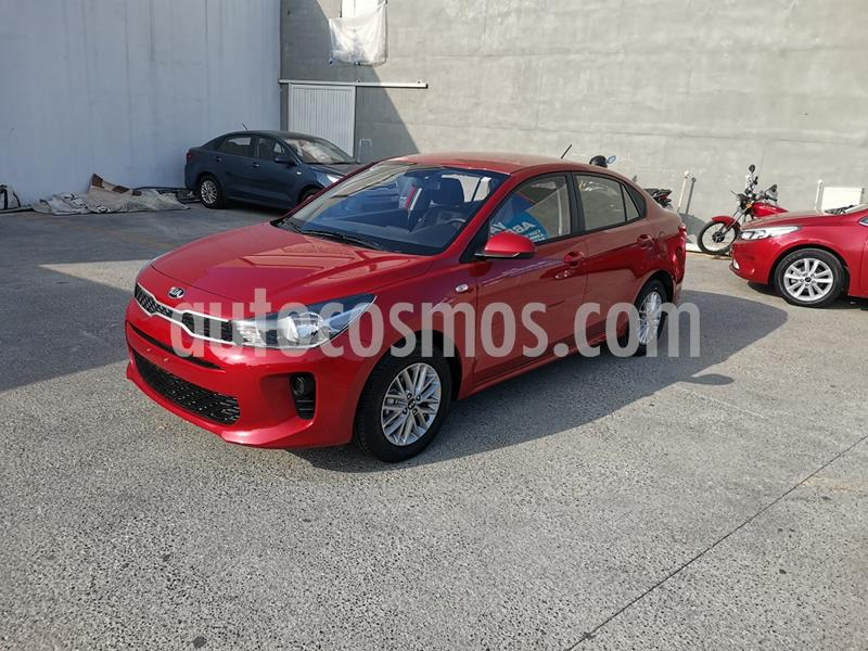 Kia Rio Sedan LX Aut usado (2020) color Rojo precio $250,000