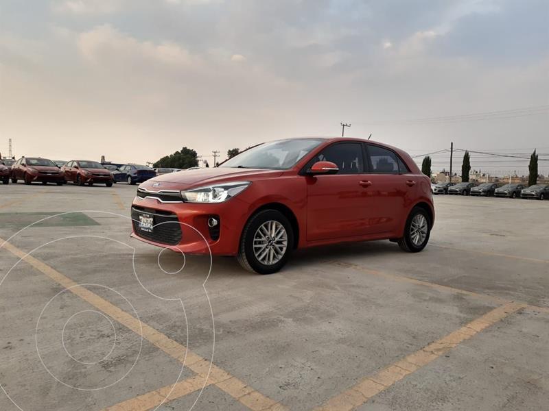Kia Rio Sedan EX Aut usado (2018) color Rojo precio $219,900