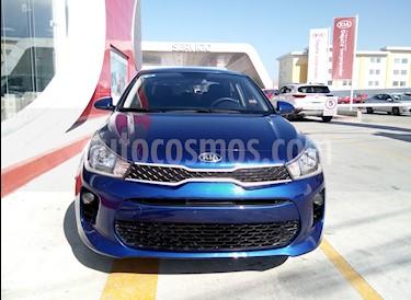 Kia Rio Sedan LX Aut usado (2018) color Azul precio $200,000