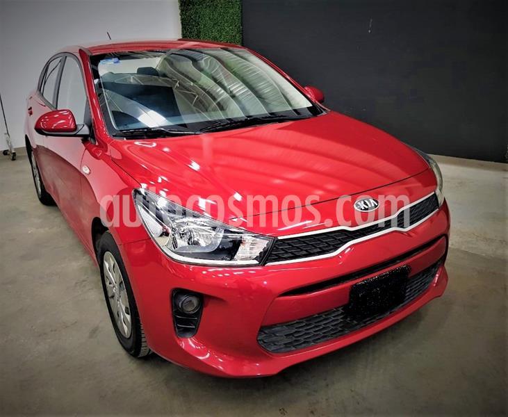 Kia Rio Sedan L usado (2020) color Rojo precio $198,499