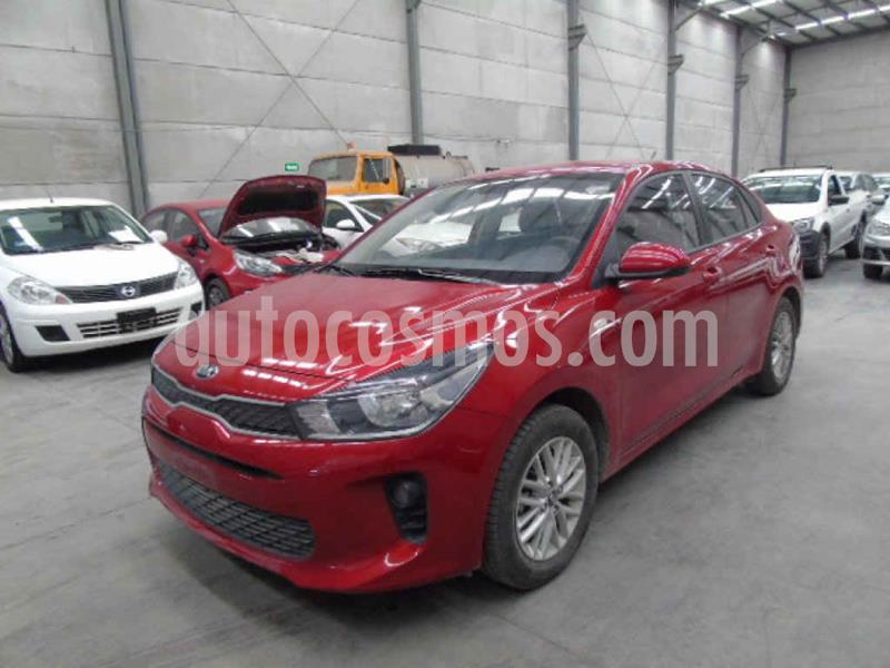 Kia Rio Sedan LX Aut usado (2020) color Rojo precio $198,000