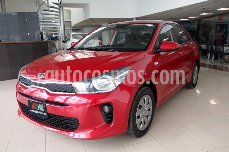 Kia Rio Sedan L Aut usado (2019) color Rojo precio $199,900