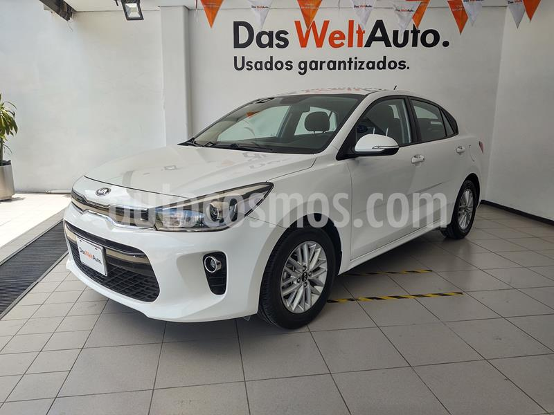 Kia Rio Sedan EX usado (2018) color Blanco precio $229,000