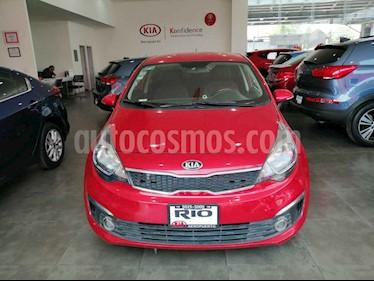 Kia Rio Sedan EX usado (2017) color Rojo precio $194,000