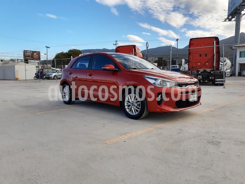 Kia Rio Sedan EX Aut usado (2018) color Rojo precio $216,000