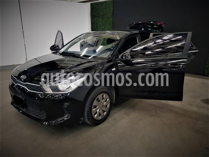 Kia Rio Sedan L usado (2020) color Negro precio $221,999