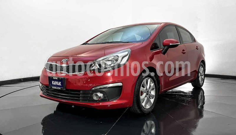Kia Rio Sedan EX usado (2017) color Rojo precio $194,999