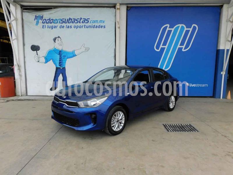 Kia Rio Sedan LX Aut usado (2020) color Azul precio $203,000