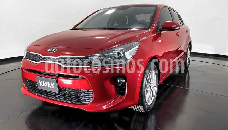 Kia Rio Sedan LX usado (2018) color Rojo precio $199,999