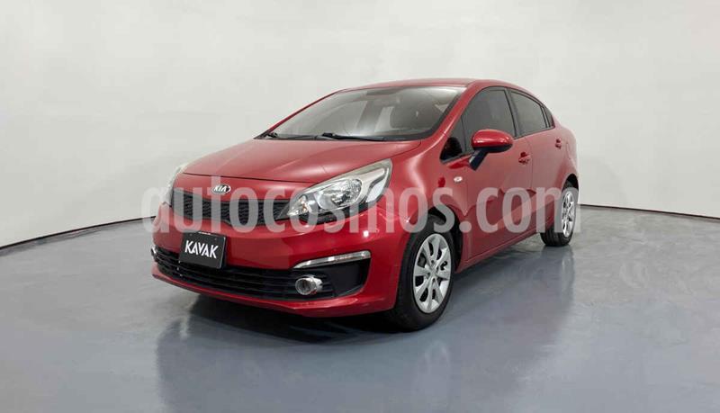 Kia Rio Sedan LX usado (2017) color Rojo precio $172,999