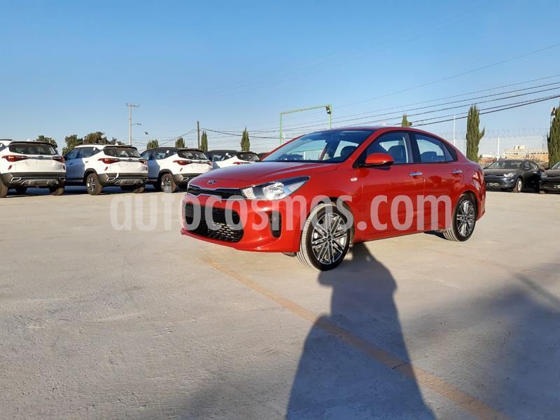 Kia Rio Sedan EX Aut usado (2020) color Rojo Cobrizo precio $295,900