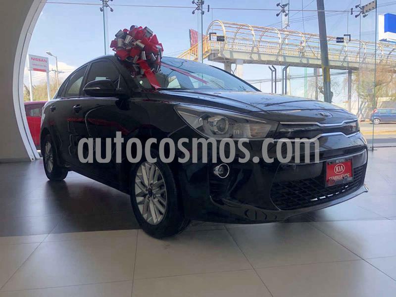 Kia Rio Sedan EX usado (2018) color Negro precio $229,900