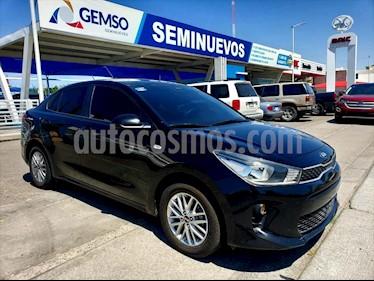 Kia Rio Sedan LX Aut usado (2018) color Negro precio $195,000