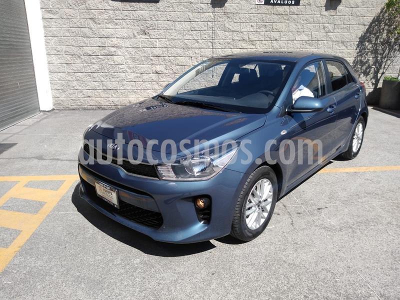 Kia Rio Sedan LX usado (2020) color Azul precio $228,000