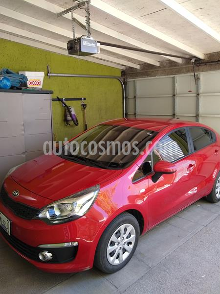 Kia Rio Sedan LX usado (2017) color Rojo precio $172,000