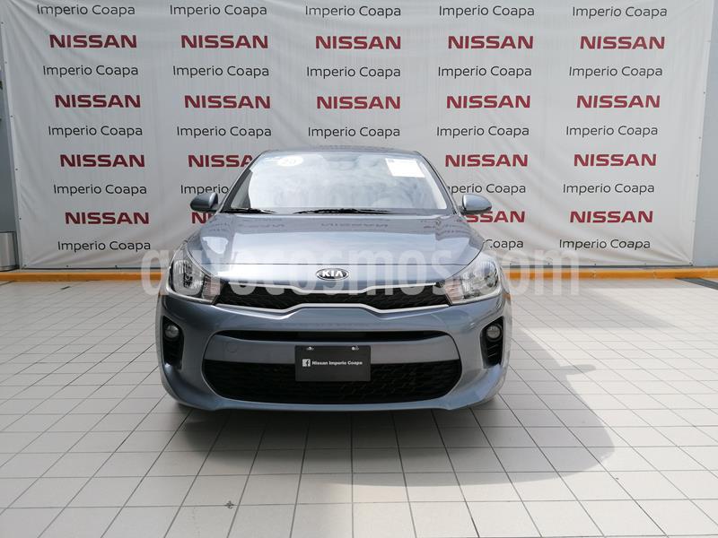Kia Rio Sedan LX usado (2020) color Gris Urbano precio $230,000