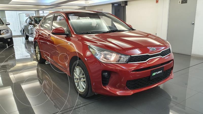 Kia Rio Sedan LX usado (2020) color Rojo precio $249,000