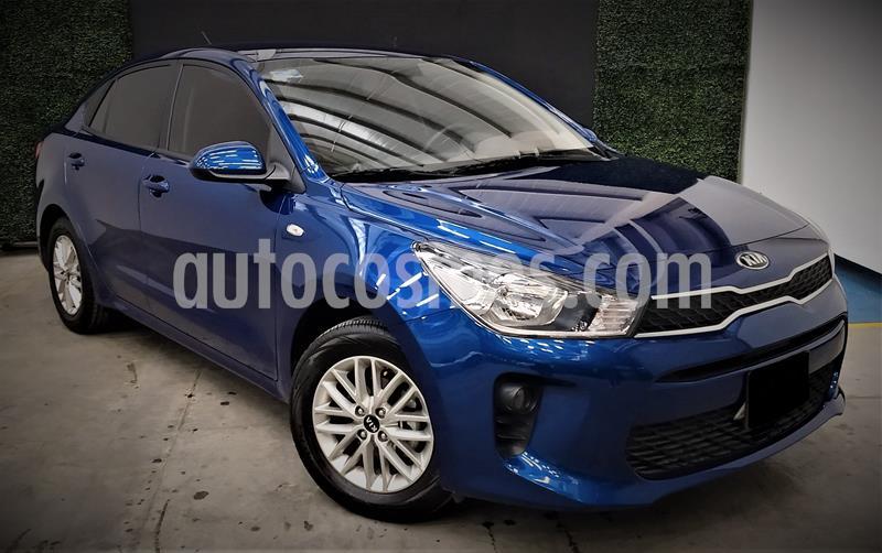 Kia Rio Sedan LX usado (2020) color Azul precio $213,999