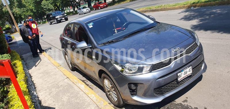 Kia Rio Sedan LX usado (2020) color Gris Oscuro precio $235,000