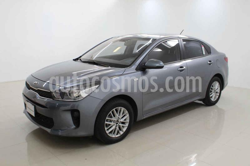 Kia Rio Sedan LX Aut usado (2018) color Plata precio $209,000