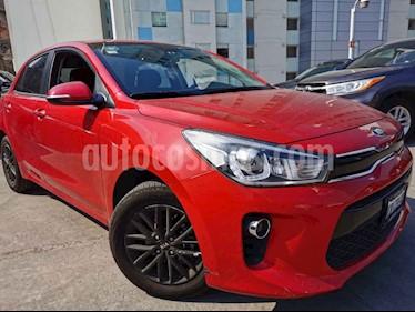 Kia Rio Sedan EX Aut usado (2018) color Rojo precio $230,000