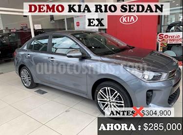 foto Kia Rio Sedán EX usado (2020) color Gris precio $280,000