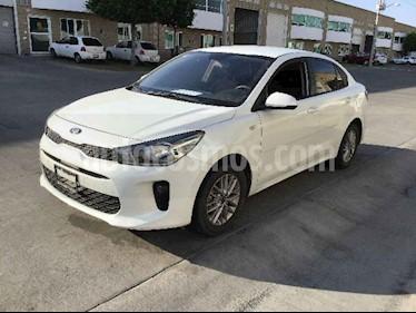 Kia Rio Sedan LX Aut usado (2018) color Blanco precio $126,000