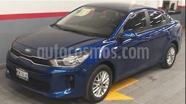 Kia Rio Sedan LX Aut usado (2018) color Azul precio $199,000